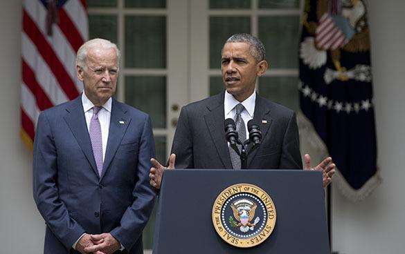 Барак Обама одержал победу: Верховный суд признал его медицинскую реформу. Барак Обама, Джо Байден