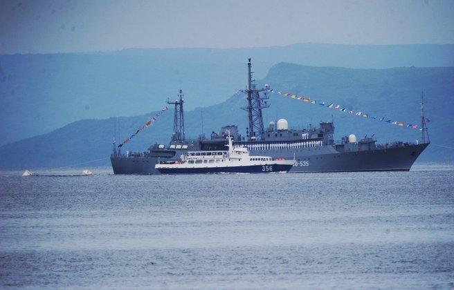 С морского парада началось празднование Дня ВМФ во Владивостоке. С морского парада началось празднование Дня ВМФ во Владивостоке