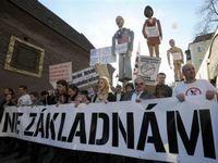 Чешские власти наложили табу на протесты против ПРО