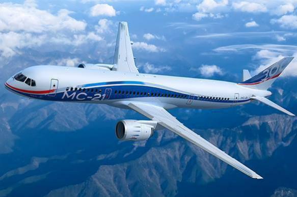 Пассажирский самолет нового поколения MC-21 совершил полный рейс. Пассажирский самолет нового поколения MC-21