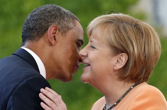 Игра США в санкции доконает Европу. Обама и Меркель договорятся о санкциях для России