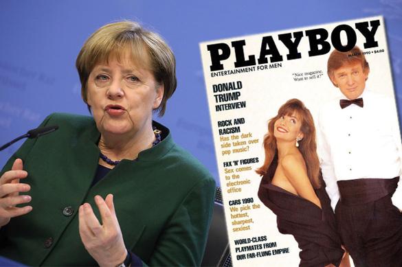Листая Playboy, фрау Меркель готовилась квстрече сТрампом