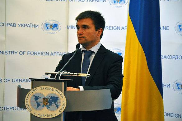 Глава МИД Украины потребовал создать систему оповещения о приезд