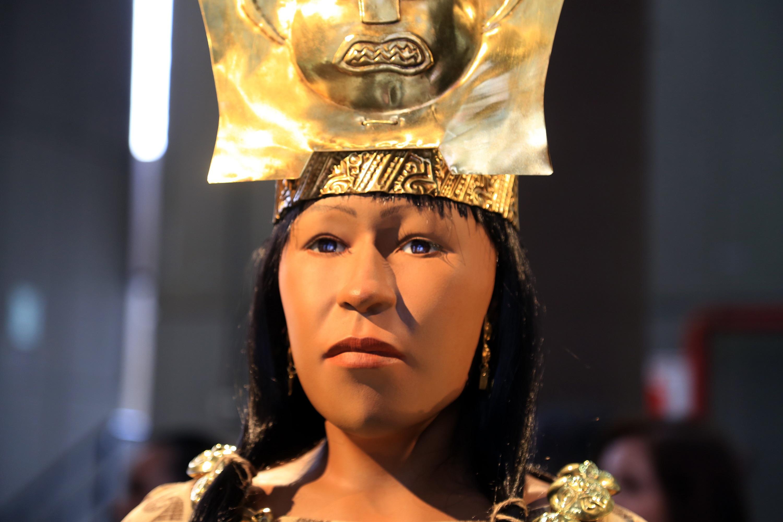 ВПеру воссоздали вид известной мумии Леди Као