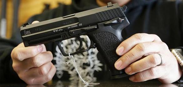 Свидетель убийства Бузины: это были не киллеры. оружие пистолет