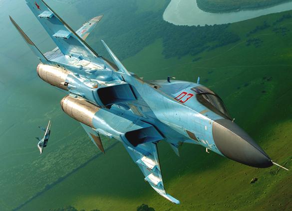 14 иностранных самолетов перехватили у своих границ ВКС России з