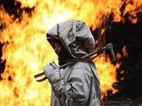 В Челябинске загорелся газопровод