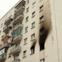Пожар на севере столицы потушен