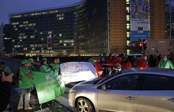 Бельгия:  общенациональная забастовка и транспорный коллапс. 306644.jpeg