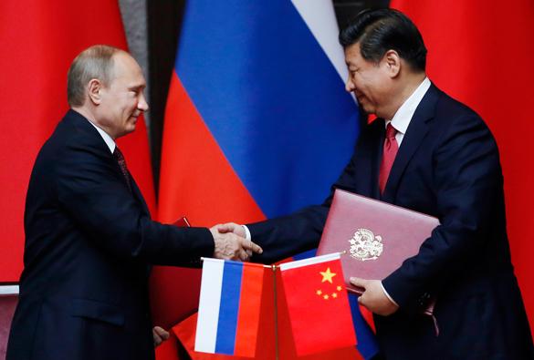 Россия и Китай - партнеры против США
