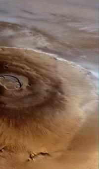 Марсиане могут скрываться в вулканах