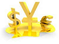 Доллар падает, евро растет