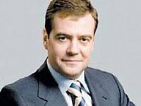 Медведев поучаствует в мероприятиях по случаю годовщины падения
