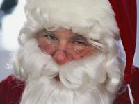Санта-Клаус будет радовать детей, несмотря на новый грипп