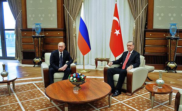 Путин и Эрдоган обсудили