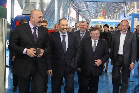 В Ивановской области открыли крупный завод. В Ивановской области открыли крупный завод.