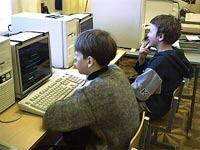 Детки в клетке и без компьютера