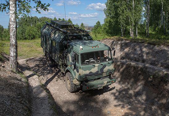 НаУрале военные испытали новые спутниковые станции «Ладья»
