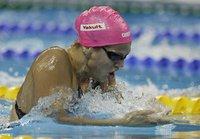 Юлия Ефимова стала вице-чемпионкой мира. swimming