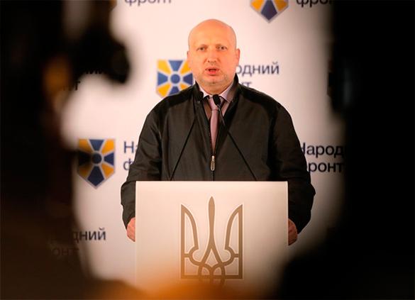 Турчинов предсказал, когда закончится война на Донбассе