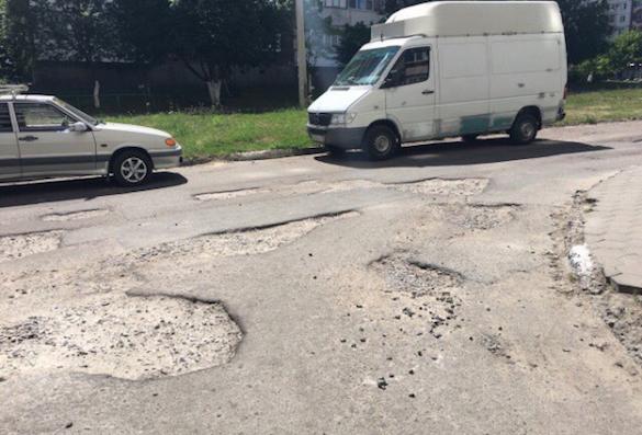 Ульяновск вошел втоп городов ссамыми чудными способами ремонта дорог