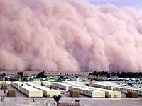 Багдад накрыла песчаная буря