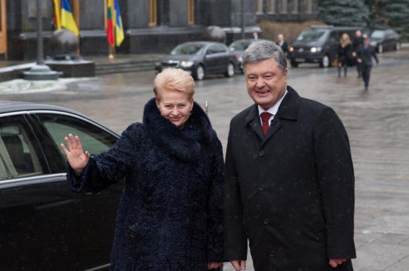 Грибаускайте пообещала Порошенко военную помощь. 395652.jpeg