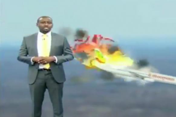 Ведущий из Кении возмутил зрителей иронией при рассказе о крушении Boeing.
