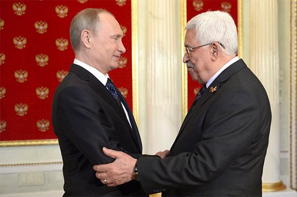 В Сочи проходит встреча Путина и Аббаса