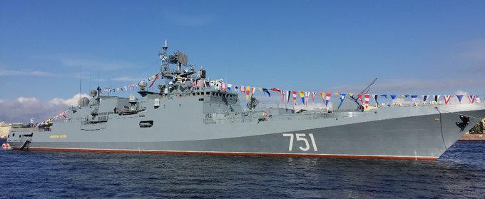 День ВМФ России впервые в истории отметили за пределами страны. День ВМФ России впервые в истории отметили за пределами страны