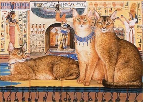 Что сделало кошек священными в Древнем Египте?. 394654.jpeg