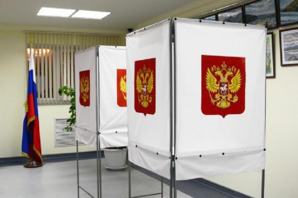 Больше половины россиян проголосовали на выборах. Больше половины россиян проголосовали на выборах