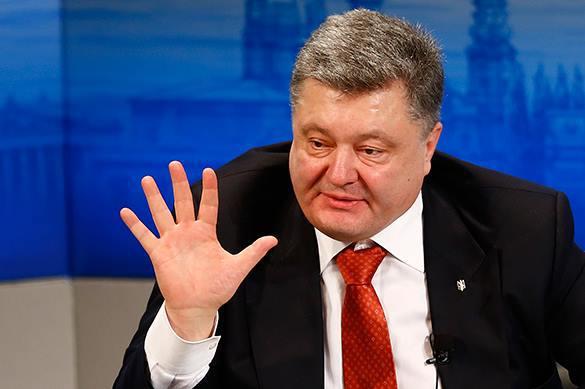 """С борта ветерана """"Сагайдачного"""" Порошенко твердо пообещал вступить в НАТО. 371656.jpeg"""