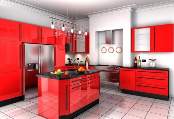 5 секретов стройности, спрятанных на кухне. красная кухня