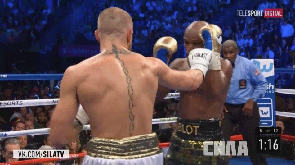 Мейвезер выиграл бой века в поединке с Макгрегором. Мейвезер выиграл бой века в поединке с Макгрегором