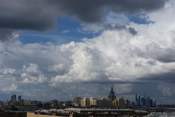 В Москве объявлен оранжевый уровень опасности