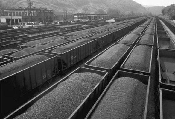 Уголь из Донбасса идет в Россию