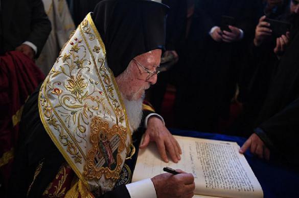 Патриарх Кирилл предостерег Варфоломея от сотрудничества с раскольниками. 396658.jpeg
