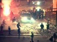 Участники беспорядков задержаны в Белграде