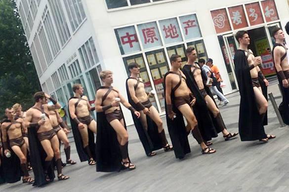 Спартанцы в Пекине