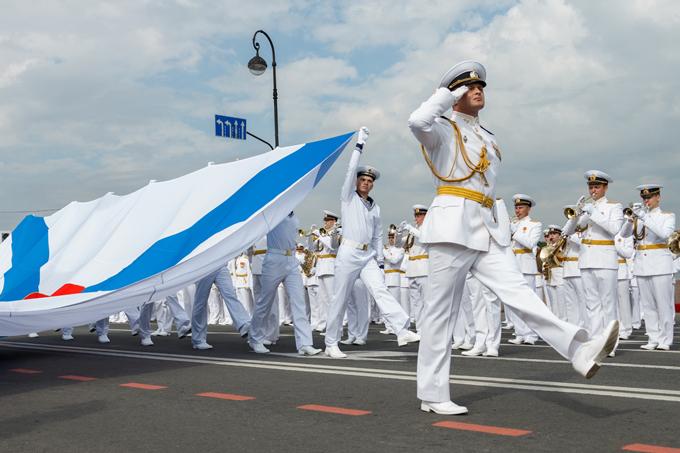 Как в России отпраздновали День ВМФ РФ. Как в России отпраздновали День ВМФ РФ