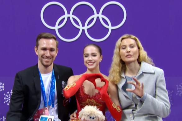 Прелестная Алина: Россия взяла первое золото Пхенчхана. Прелестная Алина: Россия взяла первое золото Пхенчхана