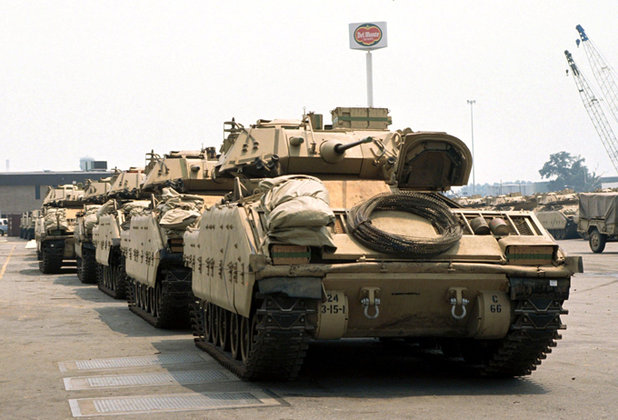 Пентагон готовится к войне с Россией, собираясь стянуть свои танковые войска в Европу. 321663.jpeg