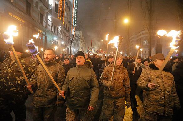 Тяжелый случай: украинские нацисты стали бояться русских вампир