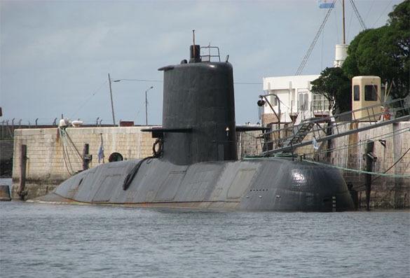 В районе исчезновения аргентинской субмарины замечен загадочный объект. 379663.jpeg