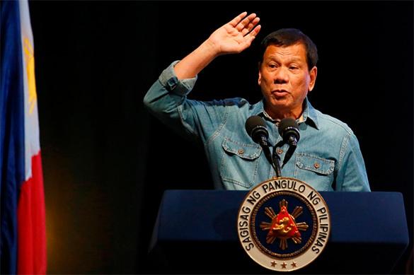 Дутерте матом потребовал отЕвропарламента нелезть вдела Филиппин