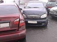 В Петербурге столкнулись 28 машин