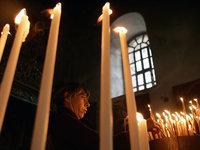 Неизвестные попытались поджечь столичный храм. church