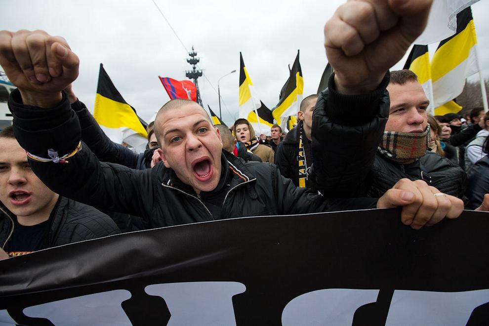"""""""Русский марш"""" в Москве все же прошел и установил антирекорд. Русский марш в Москве все же прошел и установил антирекорд"""