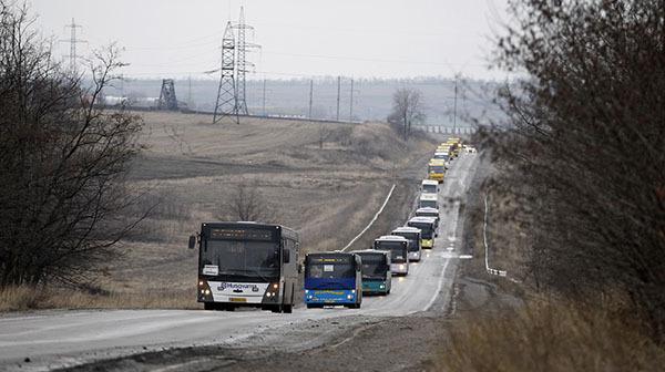 В пригороде Горловки на мине подорвался рейсовый автобус. В Горловке подорвался на мине рейсовый автобус